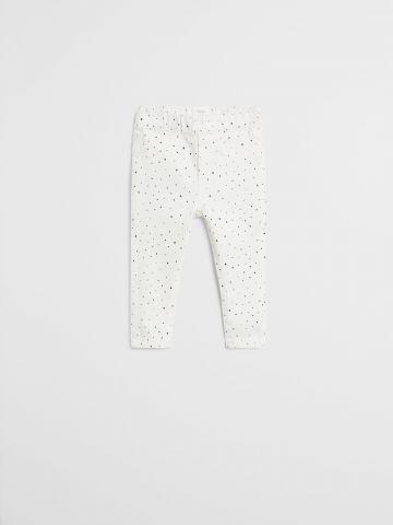 ג'ינס בהדפס נקודות / 9M-4Y של MANGO
