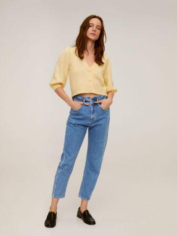 ג'ינס פייפרבאג Slouchy של MANGO