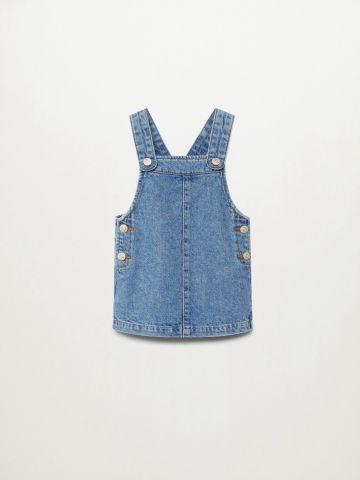 שמלת ג'ינס עם כפתורים / 9M-4Y של MANGO