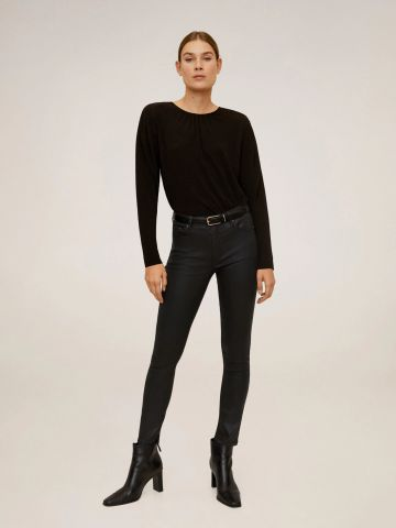 ג'ינס קרופ סקיני בגימור מט ISA של MANGO