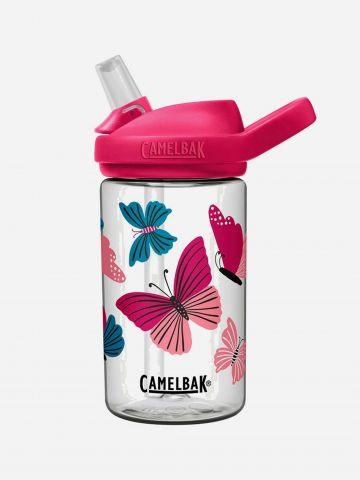 בקבוק שתייה עם קשית ופיה EDDY / 0.4 מ״ל של CAMELBAK