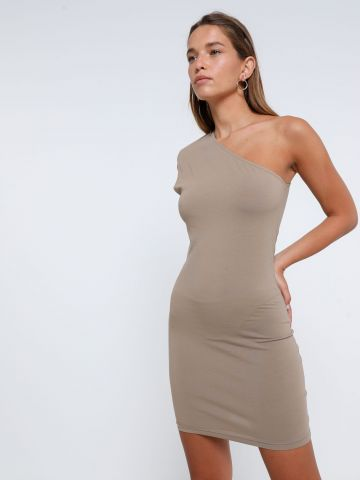 שמלת מיני וואן שולדר של TERMINAL X