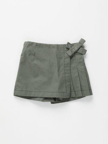 מכנסי חצאית עם פפיון / 3M-3Y של FOX