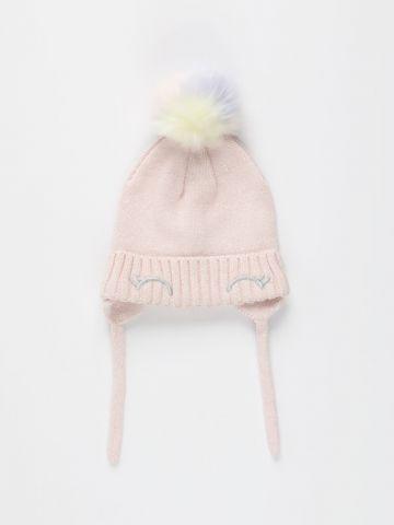 כובע צמר בשילוב כיסוי אוזניים / 0M-3Y של FOX