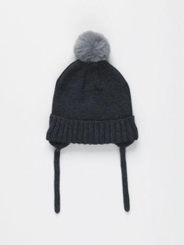 כובע צמר עם כיסוי אוזניים / 0M-3Y של FOX