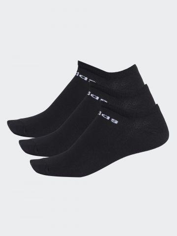 מארז 3 זוגות גרביים נמוכים / גברים של ADIDAS Performance