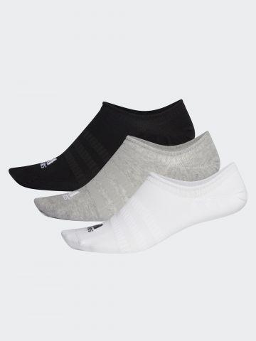 מארז 3 גרביים נמוכים עם לוגו / נשים של ADIDAS Performance