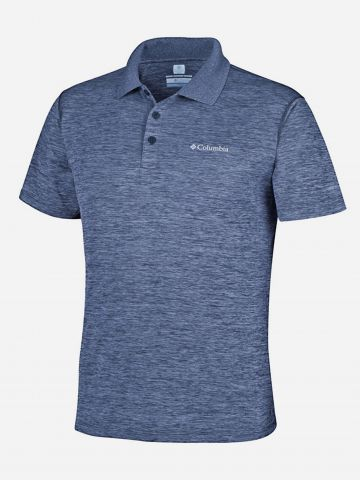חולצת פולו עם לוגו / גברים של COLUMBIA
