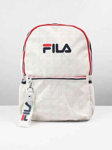 תיק גב עם רקמת לוגו של FILA