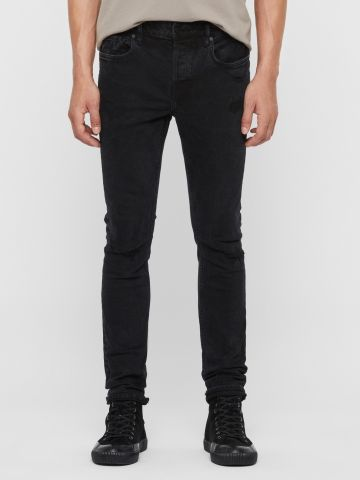 ג'ינס סטרץ' בגזרת סקיני של ALL SAINTS