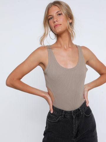בגד גוף עם פתחים בצדדים של TERMINAL X