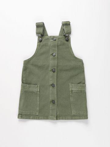 שמלת ג'ינס עם כפתורים / בנות של FOX