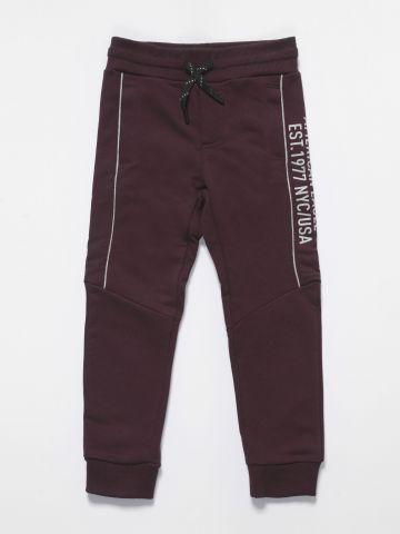 מכנסי טרנינג ארוכים עם לוגו / בנים של AMERICAN EAGLE