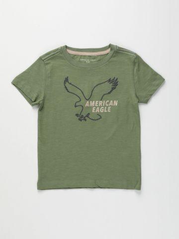 טי שירט עם לוגו / בנים של AMERICAN EAGLE