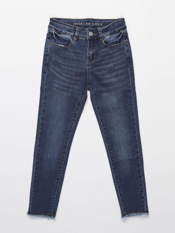 ג'ינס ארוך בגזרה ישרה / בנות של AMERICAN EAGLE