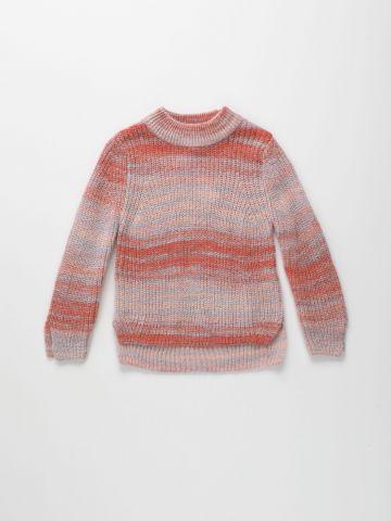 סוודר ריב בדוגמת פסים / בנות של AMERICAN EAGLE