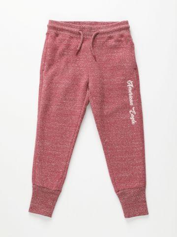 מכנסי טרנינג עם רקמת לוגו מנצנצת / בנות של AMERICAN EAGLE