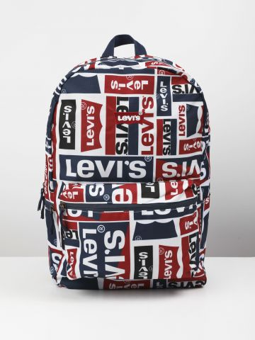 תיק גב בהדפס לוגו של LEVIS