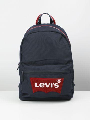 תיק גב עם הדפס לוגו של LEVIS