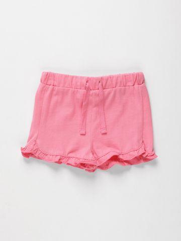 מכנסיים קצרים עם מלמלה / N.B-3Y של THE CHILDREN'S PLACE