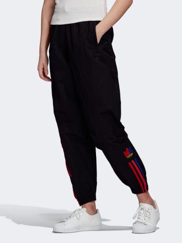מכנסי ניילון ארוכים עם לוגו של ADIDAS Originals