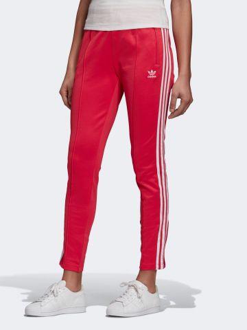 מכנסיים ארוכים עם פסי לוגו בצדדים של ADIDAS Originals