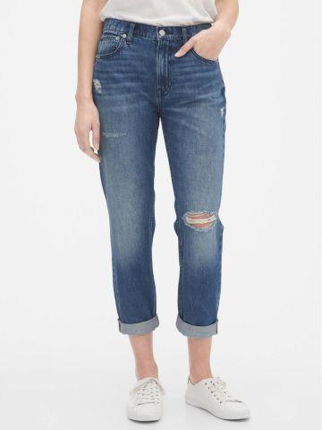 ג'ינס ארוך עם קרעים Boyfriend של GAP