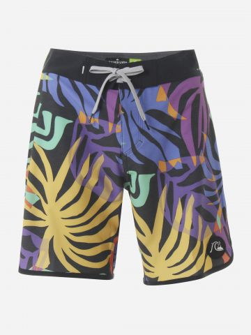 מכנסי בגד ים בהדפס מולטי קולור / גברים של QUIKSILVER