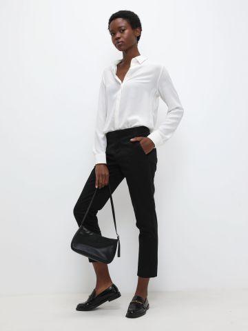 מכנסי קרופ מחוייטים של BANANA REPUBLIC