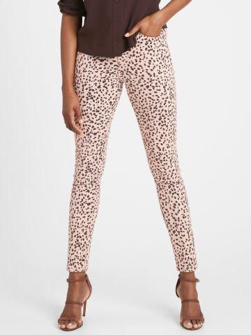 ג'ינס סקיני בהדפס כתמים של BANANA REPUBLIC