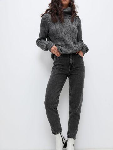 ג'ינס קרופ בגזרה גבוהה של GAP