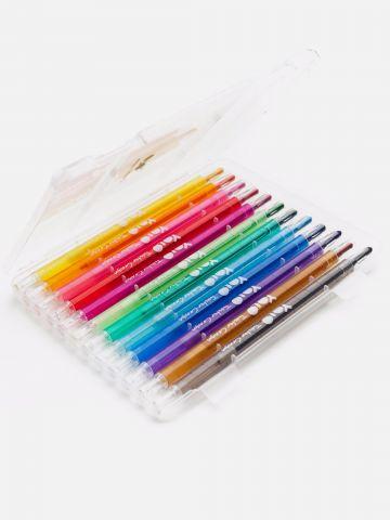 מארז 12 צבעים מסתובבים של YOLO