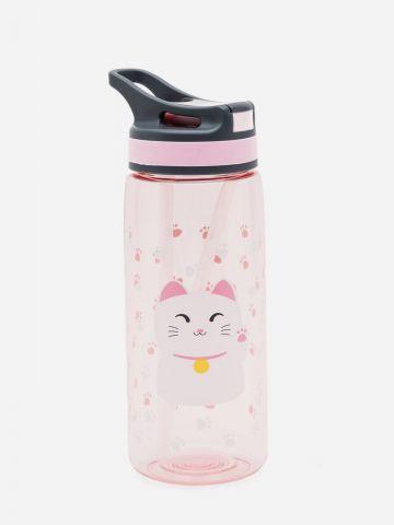 בקבוק שתייה חתולה של YOLO