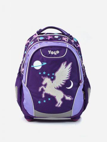 תיק בית ספר יוניקורן X-Bag של YOLO