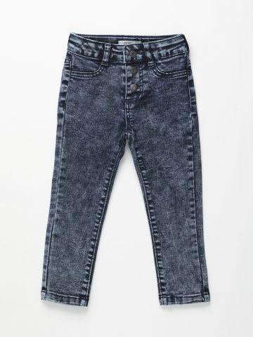 ג'ינס אסיד ווש ארוך / בנות של FOX