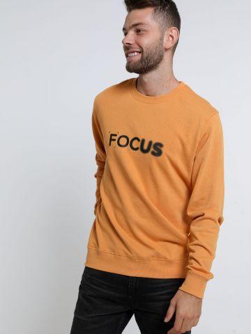 סווטשירט עם הדפס Focus של FOX