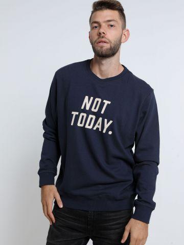 סווטשירט עם הדפס Not Today של FOX