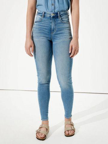 ג'ינס סקיני ארוך Curvy High Rise Jegging של AMERICAN EAGLE
