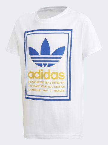 טי שירט עם לוגו / בנים של ADIDAS Originals