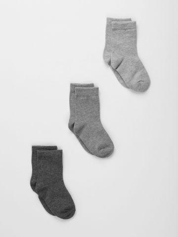 מארז 3 זוגות גרביים / ילדים של TERMINAL X KIDS
