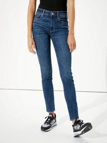 ג'ינס ארוך בשטיפה כהה של AMERICAN EAGLE