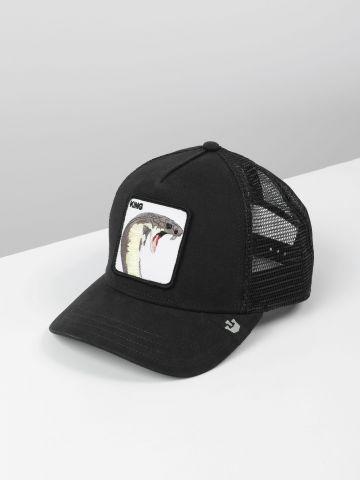 כובע מצחייה עם פאץ' נחש King של GOORIN BROS
