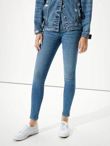 ג'ינס קרופ בגזרת סקיני של AMERICAN EAGLE