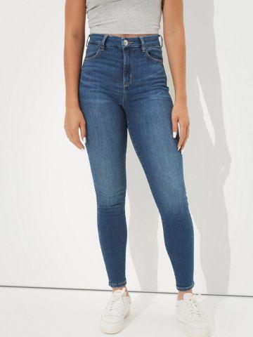 ג'ינס סטרץ' בגזרה גבוהה CURVY HI-RISE JEGGING של AMERICAN EAGLE
