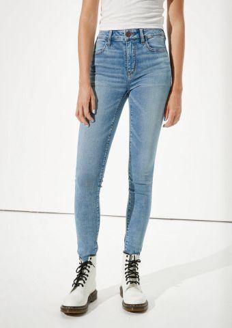 ג'ינס סקיני Hi Rise Jegging של AMERICAN EAGLE