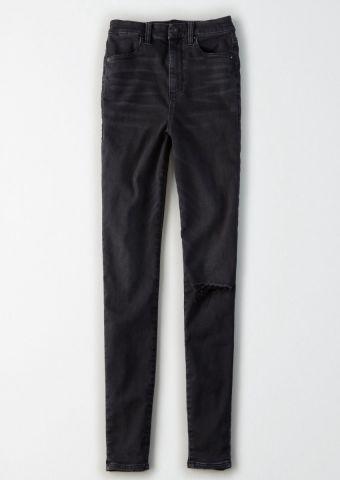 ג'ינס סקיני Curvy בגזרת Super Hi-Rise Jegging / נשים של AMERICAN EAGLE