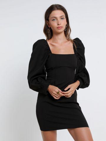 שמלת מיני עם שרוולים נפוחים של TERMINAL X