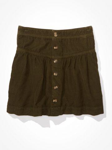 חצאית מיני עם כפתורים / נשים של AMERICAN EAGLE