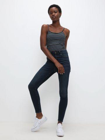 ג'ינס סקיני בשטיפה כהה Curvy של AMERICAN EAGLE