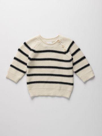 סוודר בהדפס פסים / 6M-5Y של TERMINAL X KIDS
